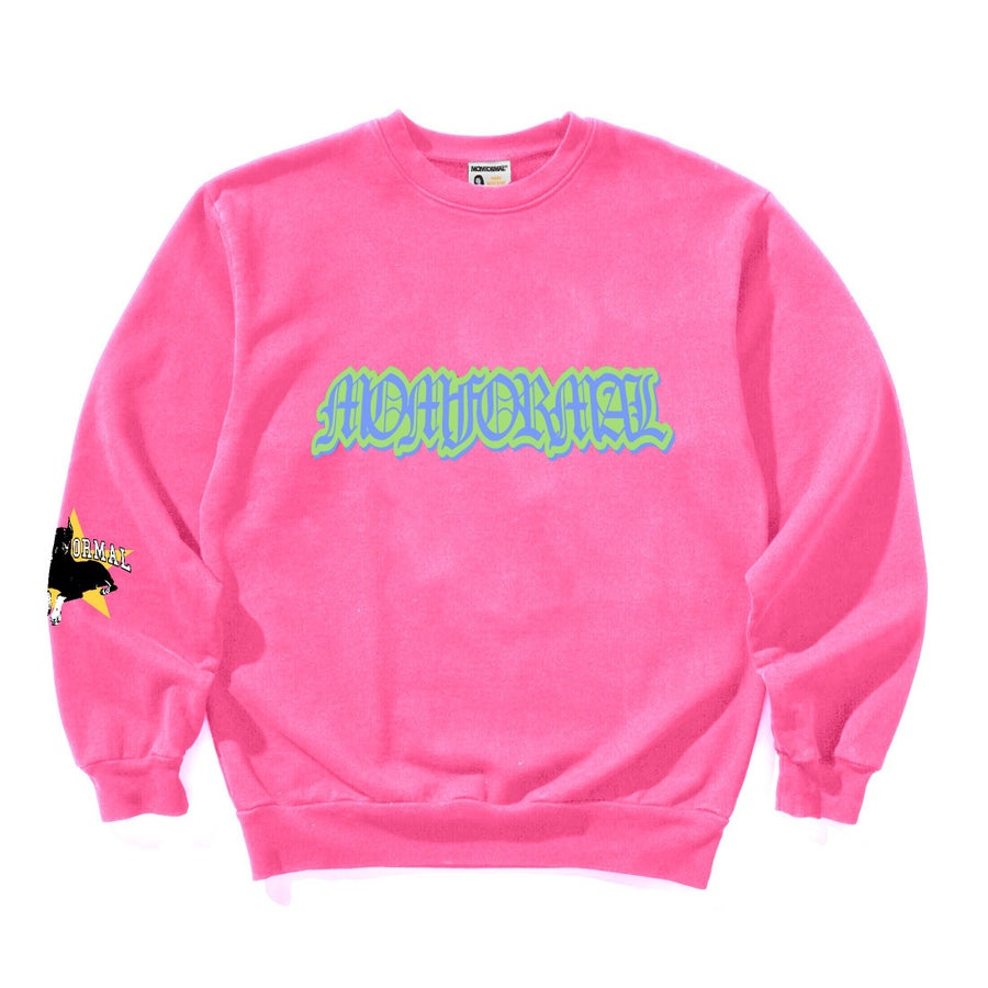 Image of OBEDIENCE CREWNECK (PINK)