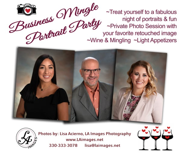 Image of Business Mingle Mini Portrait Party  - January 9th 2020