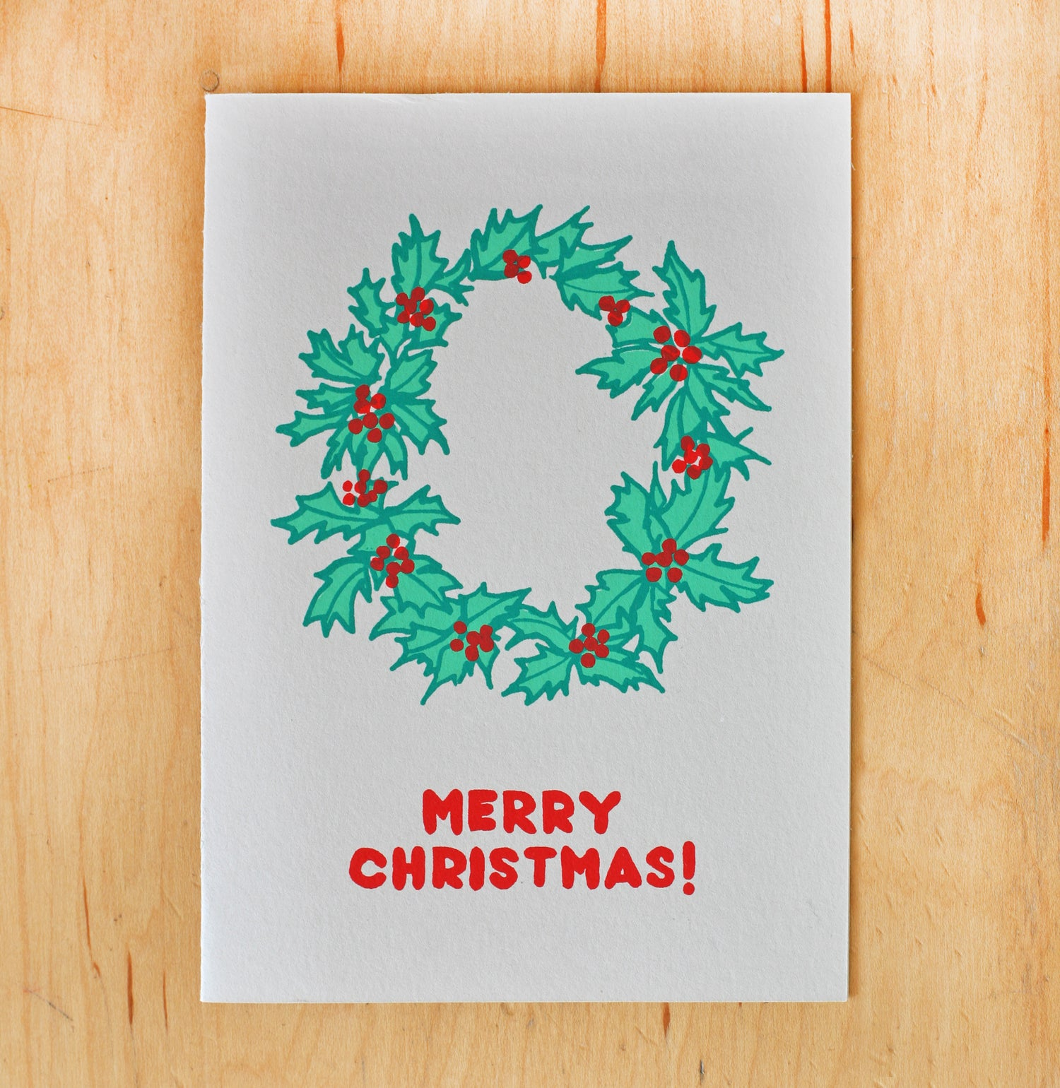 Image of Christmas Holly Wreath
