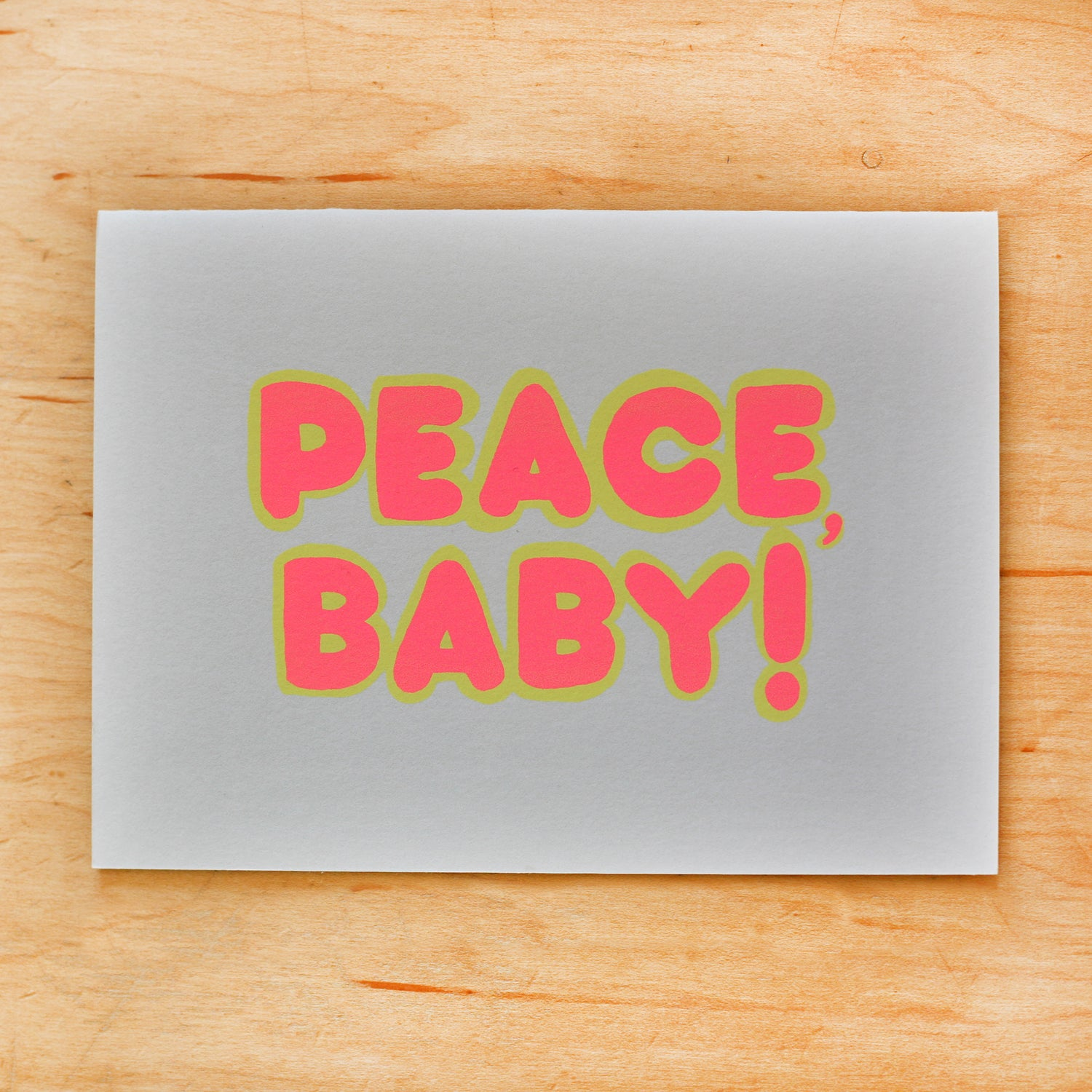 Image of Peace Baby