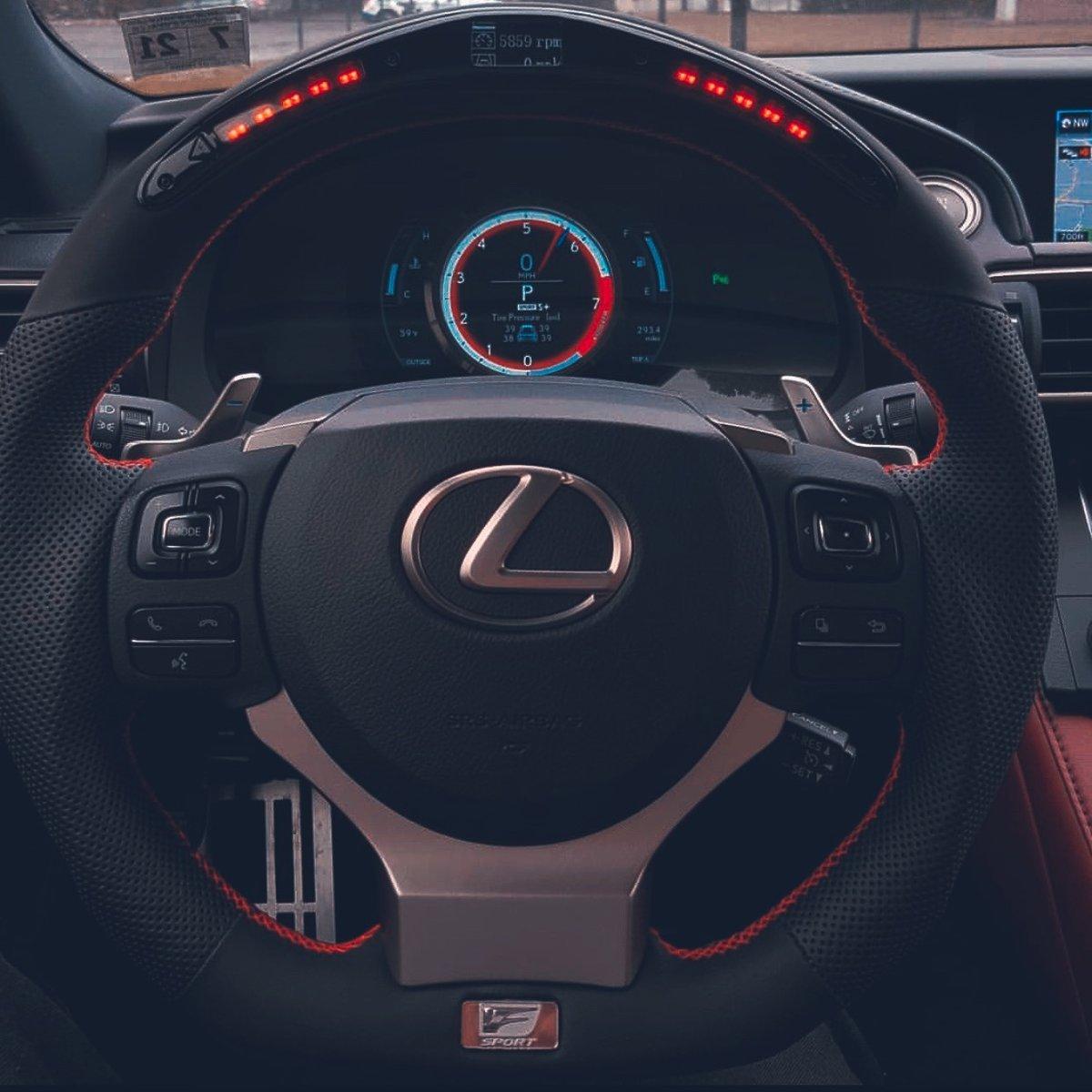 Image of Lexus LED Steering Wheel