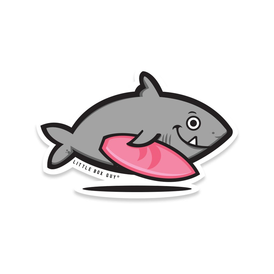 Image of Surf Shark (Die-Cut Sticker)