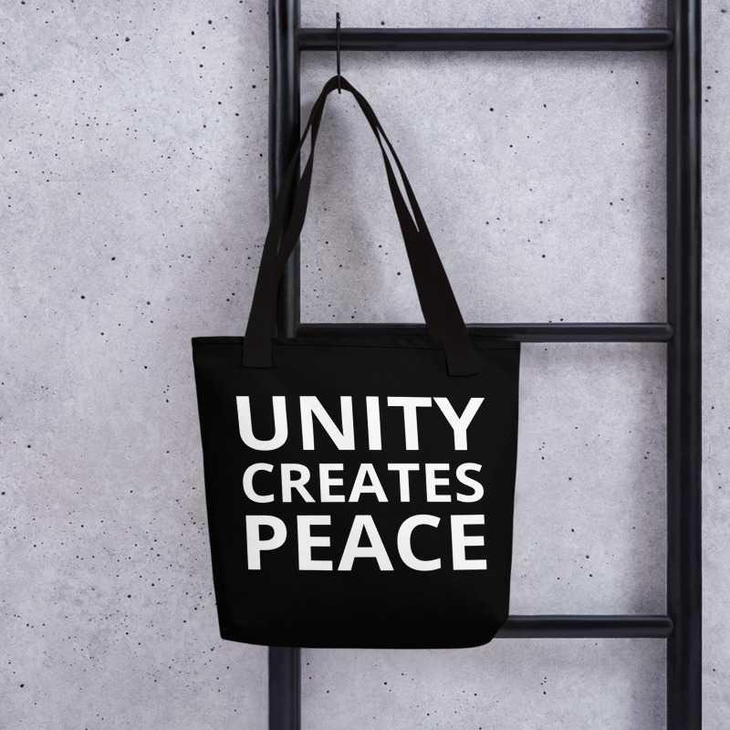 Image of Unity Creates Peace Tote