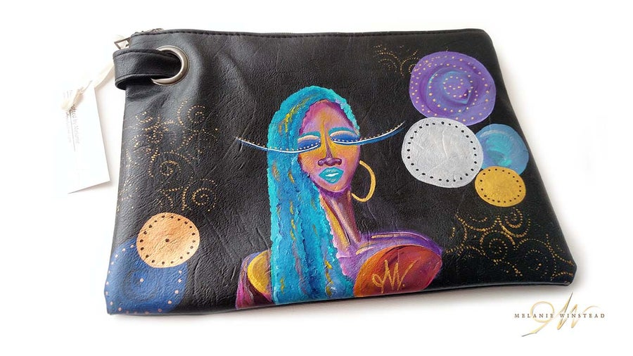 "Image of ""Mistic Chic"" Vegan Clutch"