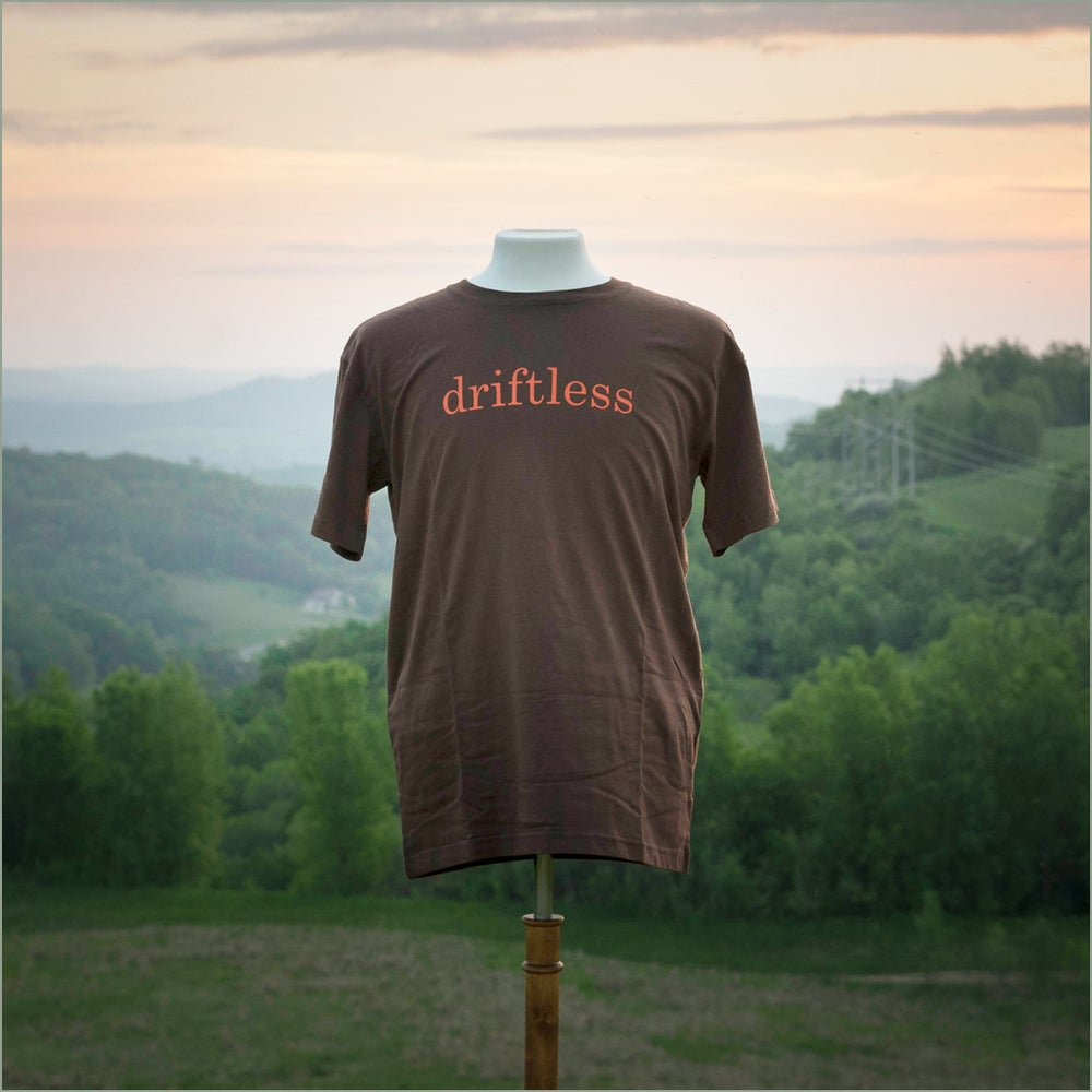 Image of driftless/SLOWER IS BETTER Organic Cotton T-shirt