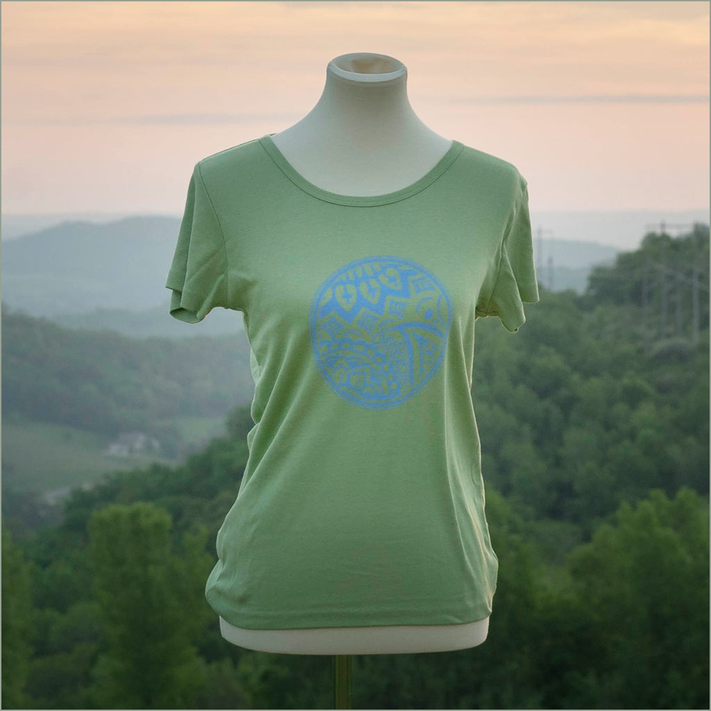 Image of Driftless Henna Organic Cotton Cap Sleeve Shirt