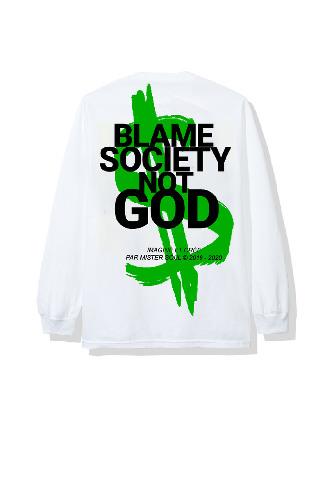 Image of MONEY BSNG WHITE LONGSLEEVES