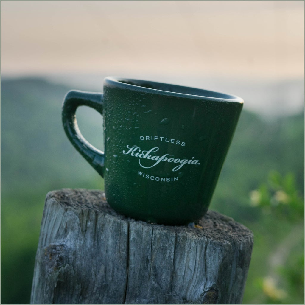 Image of Kickapoogia/Less is More ceramic cup