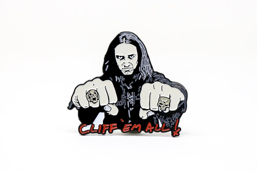 Image of Cliff Burton Enamel Pin