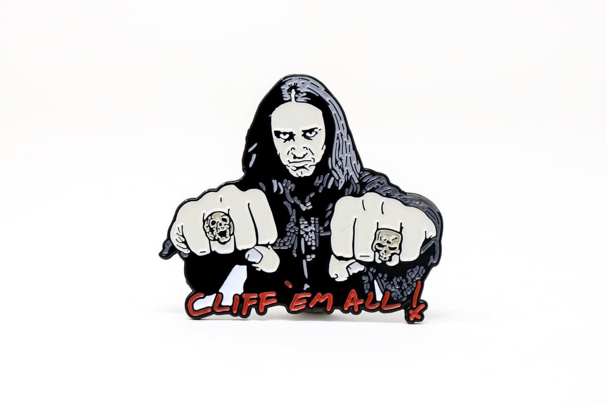 Image of Cliff Burton Enamel Pin