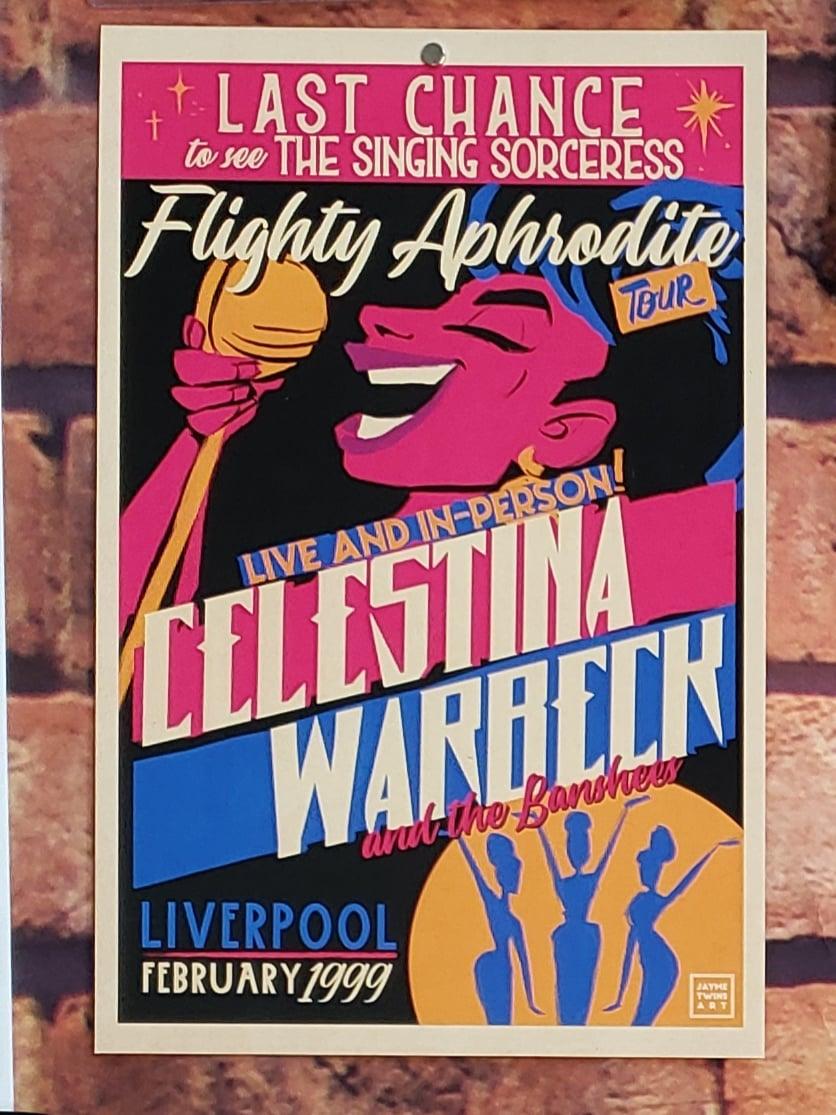 Celestina Warbeck Poster