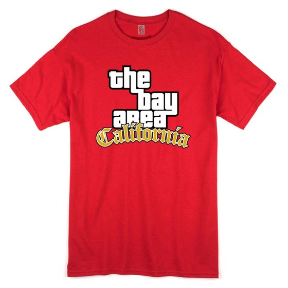 Image of The Bay Area GTA Gold Edition Tee (Red)