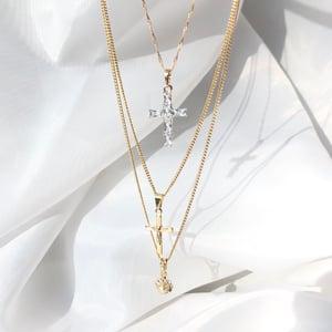 Image of Mini Cross Necklace