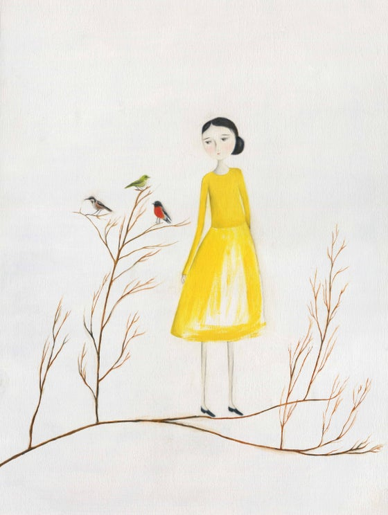 Image of Yellow ~ Archival Print