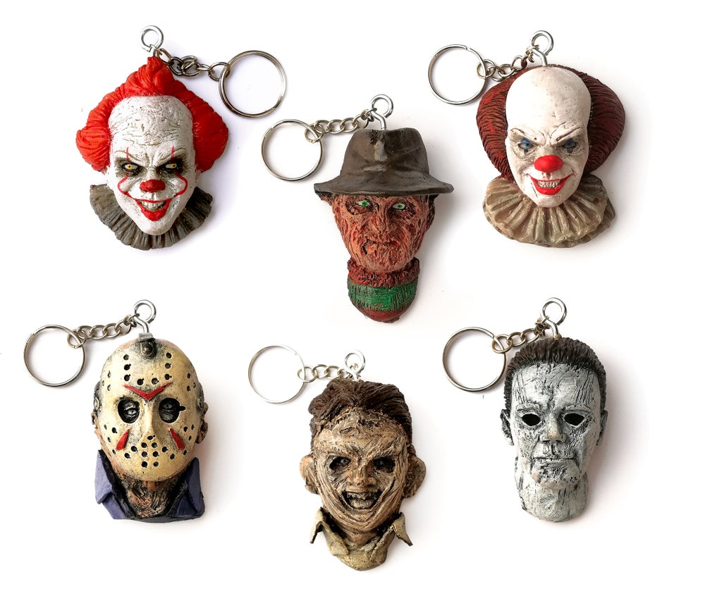 Image of HORROR KEYCHAIN