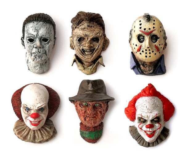 Image of HORROR MAGNETS