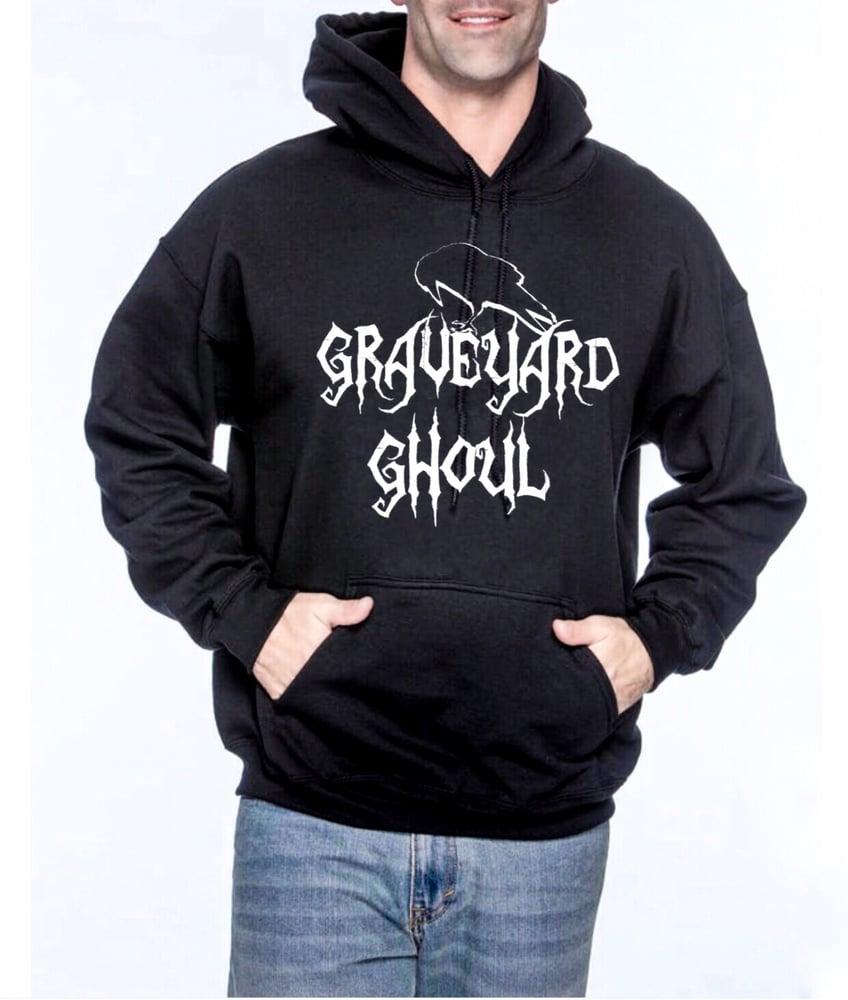 Image of Graveyard Ghoul Unisex Pullover Hoodie