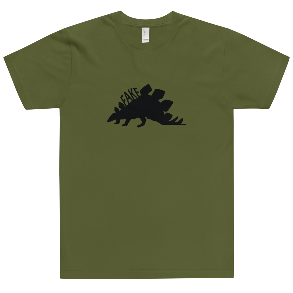 Image of Stegasaurus is Fake