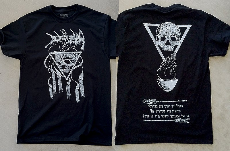 "Image of DEATH STENCH ""Visions From The Black Flame"" Shirt"