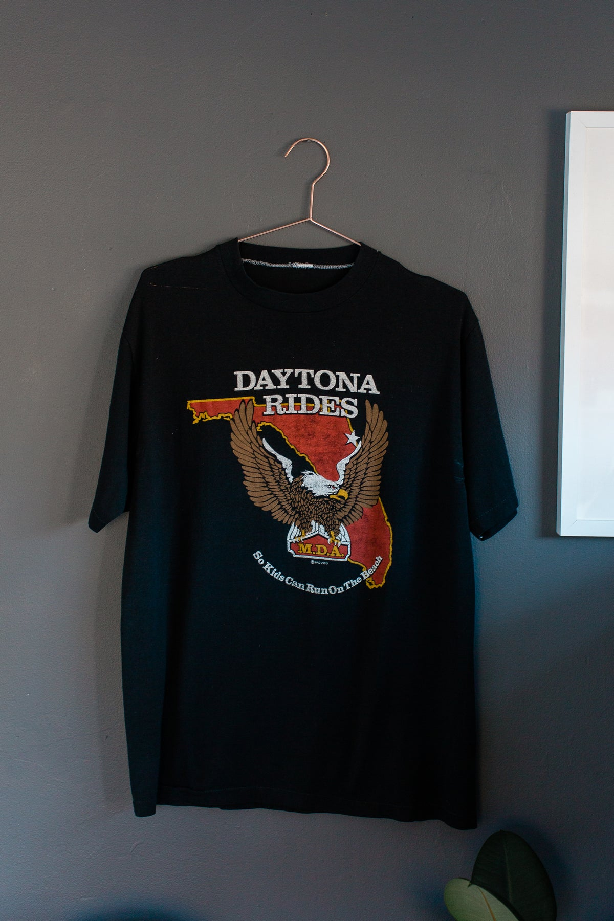 Image of 1983 Daytona Rides Eagle Shirt
