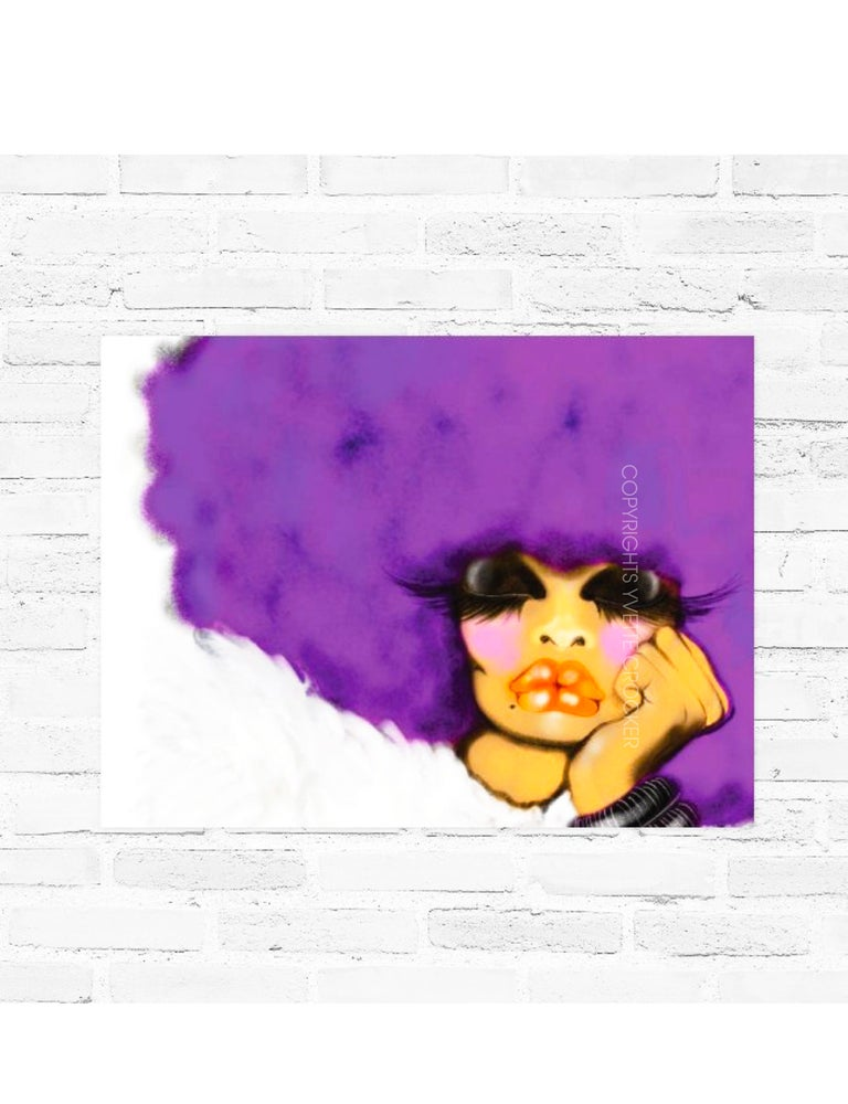 Image of PURPLE REIGN POSTER