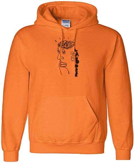 Image of Orange Top Off Hoodie