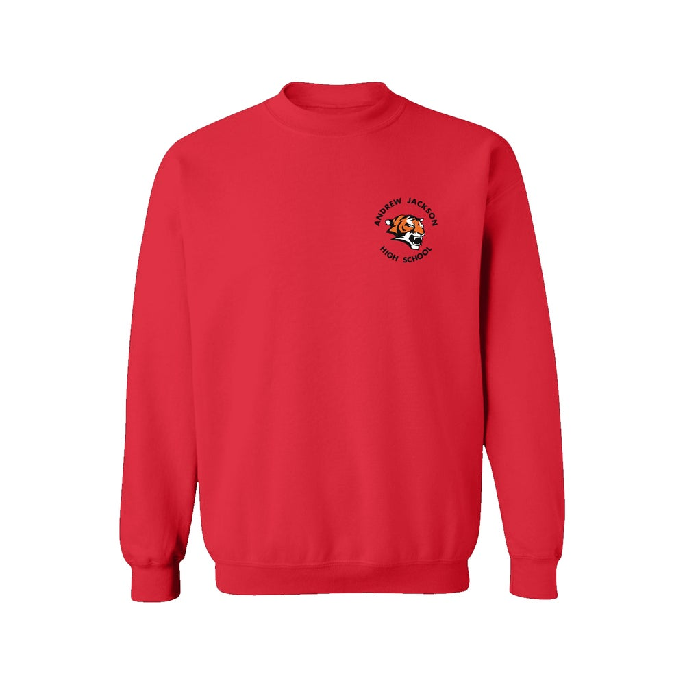 Image of RED CREWNECK SWEATER
