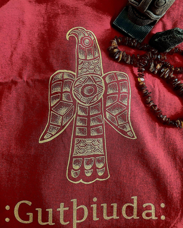 Gothic Eagle T-shirt