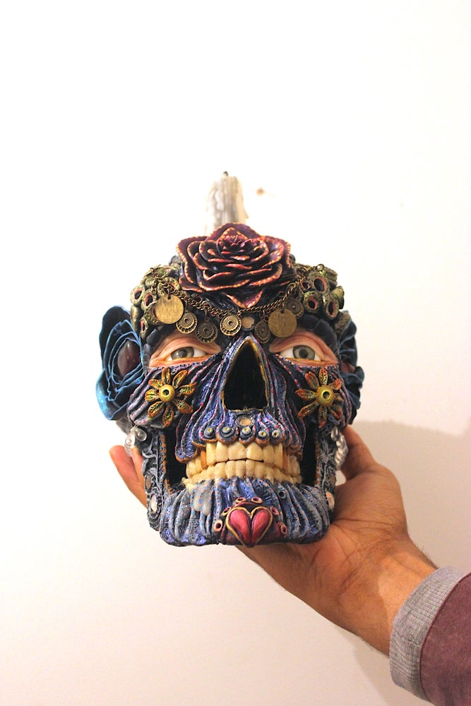 Image of Day of the Dead Skull