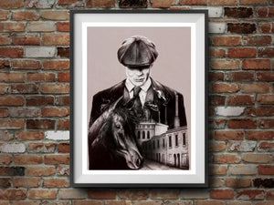 Image of Scratch & Dent Tommy Shelby Art print