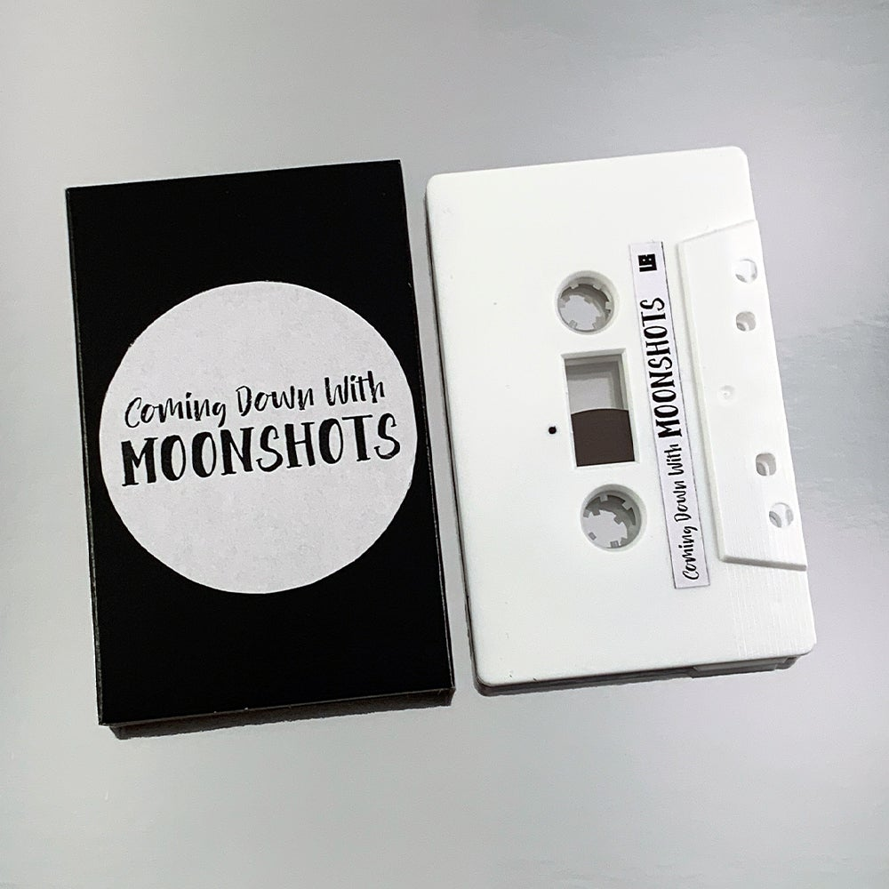 Image of Coming Down With Moonshots (Limited Edition Audio Cassette)