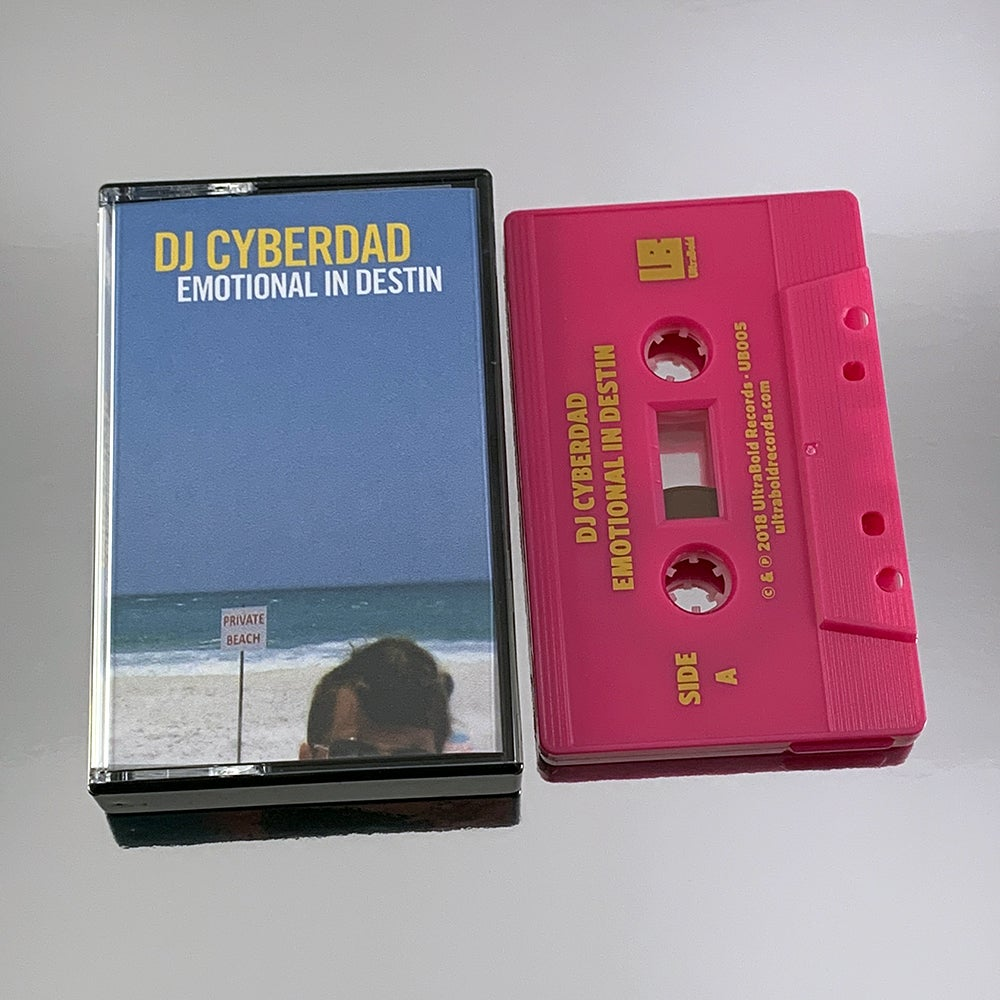 Image of DJ CYBERDAD – Emotional in Destin (Limited Edition Audio Cassette)