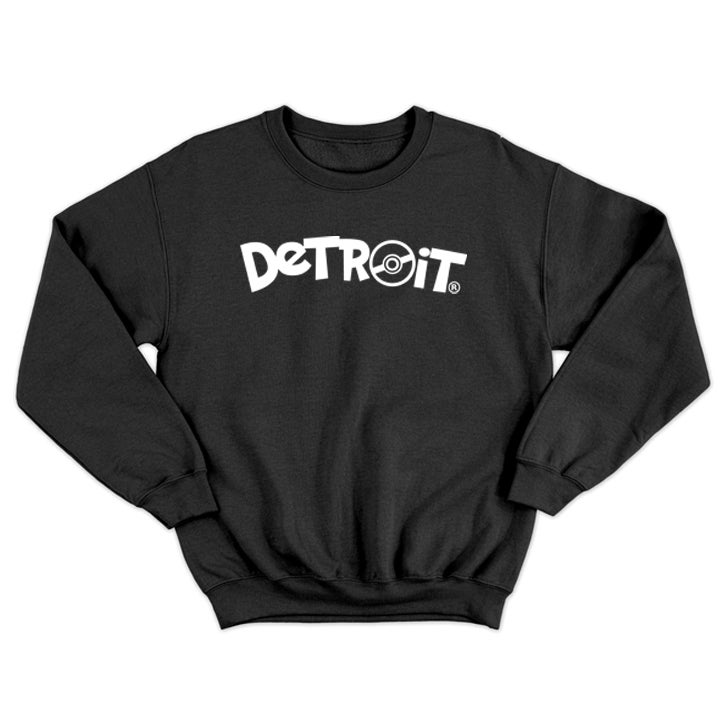 Image of Poke Detroit Crewneck Sweatshirt