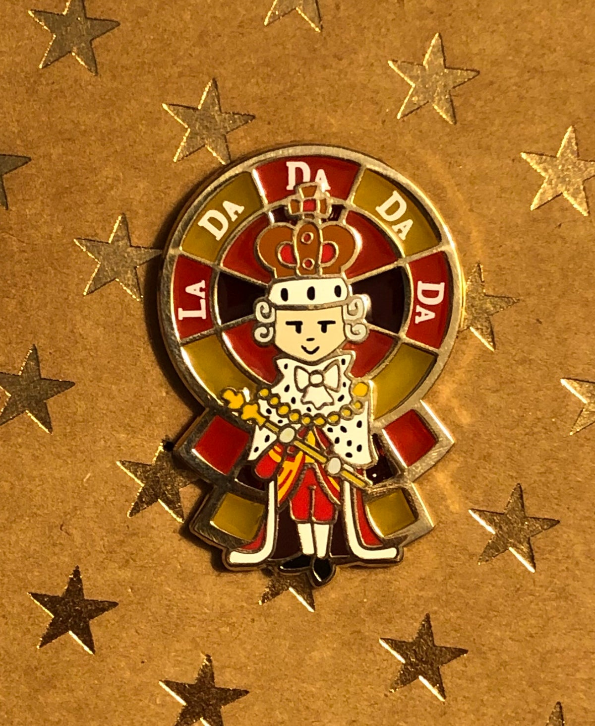 """Image of """"The King"""" Pin"""