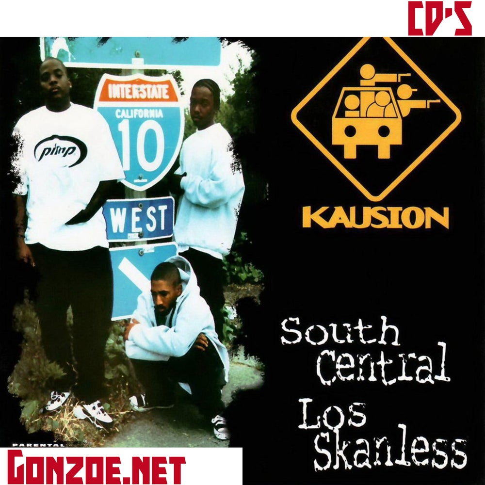 Image of Kausion - South Central Los Skanless  CD