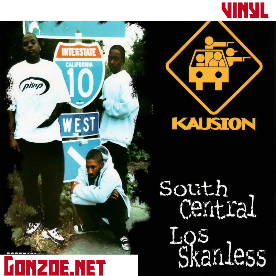 "Image of KAUSION - South Central Los Skanless 12"" Vinyl"