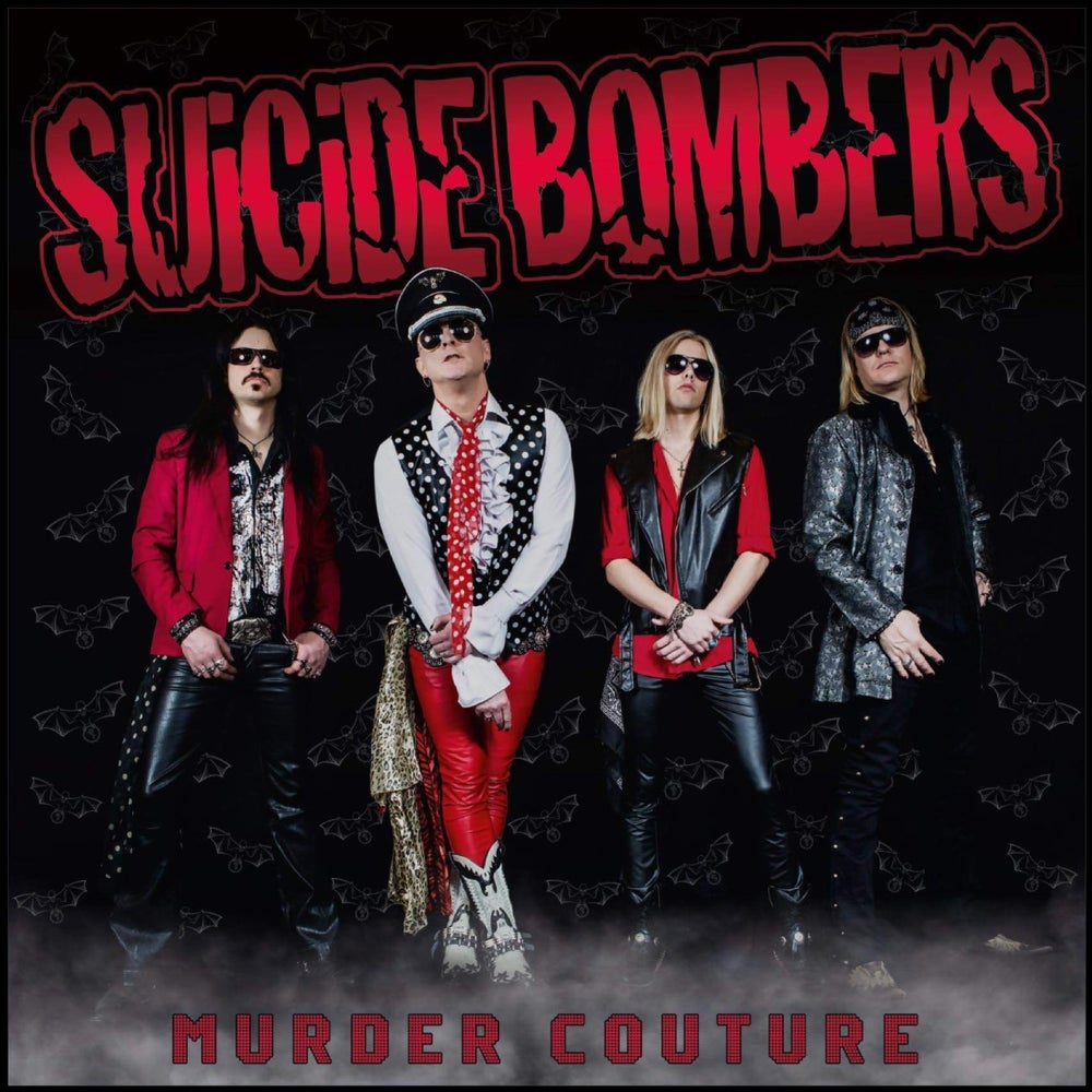 Image of SUiCiDE BOMBERS-Murder Couture BACK IN STOCK