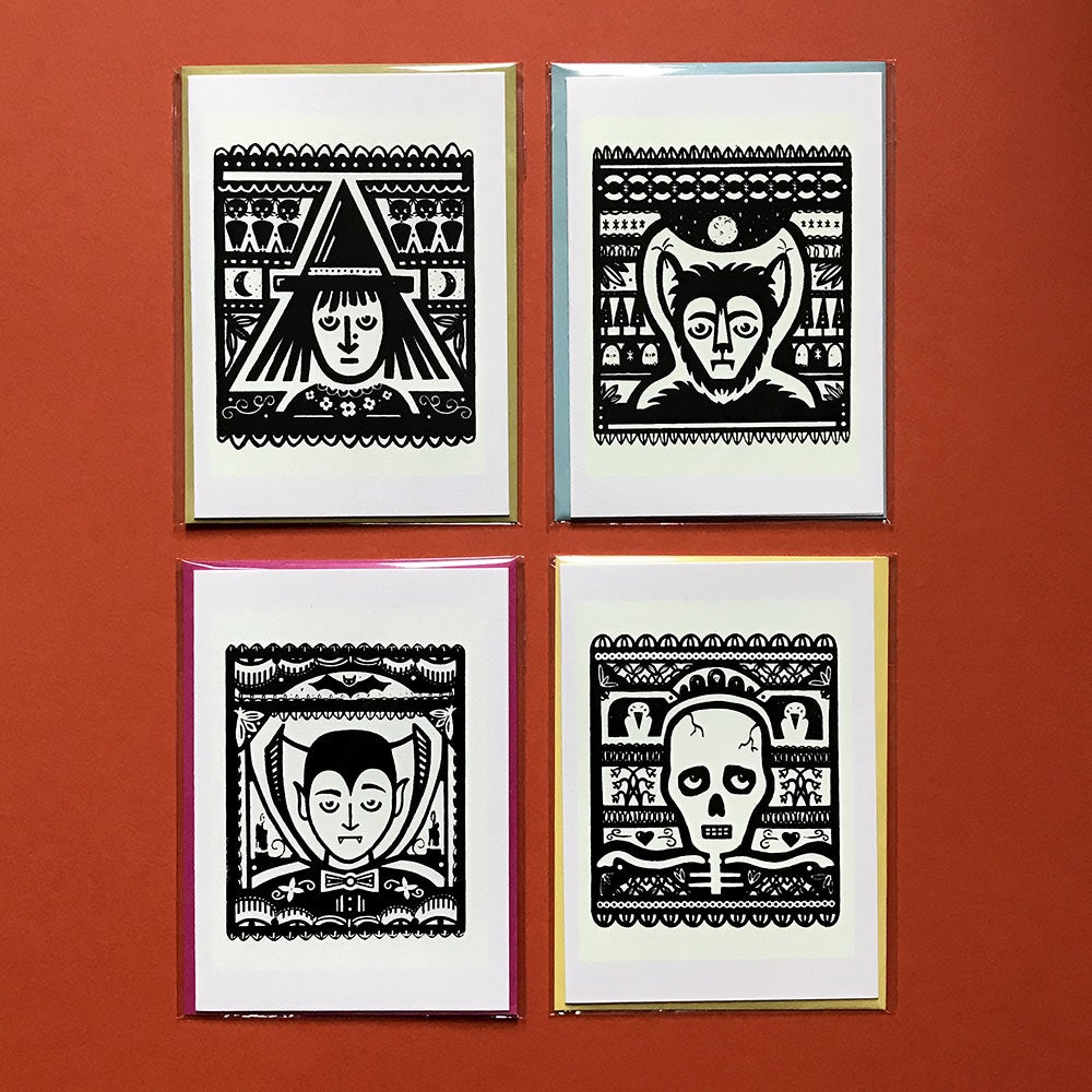 Image of Glow-in-the-Dark Greeting Cards
