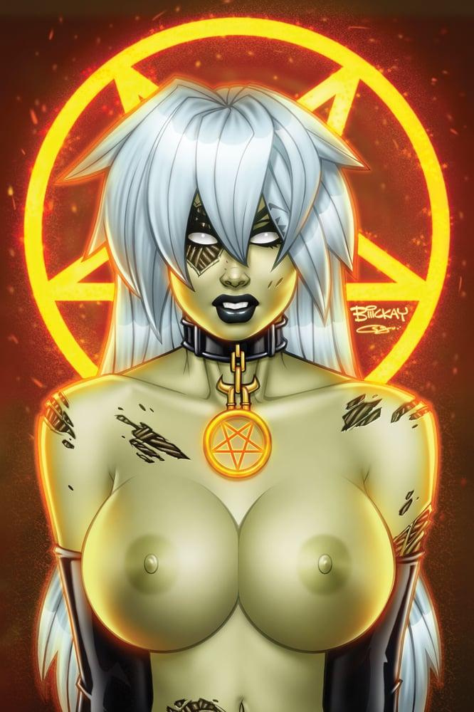 Image of Zombie Tramp #64 Baltimore Comic Con Exclusive Set