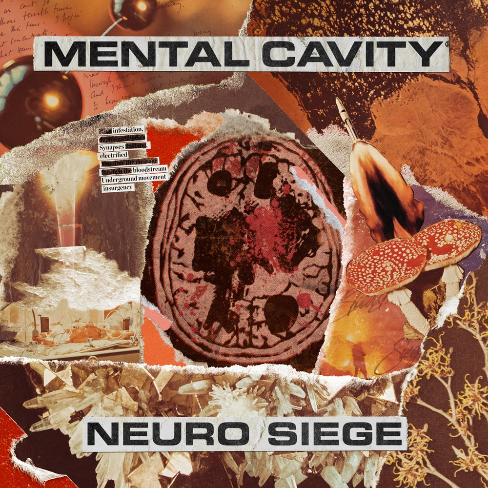 Mental Cavity - 'Neuro Siege' CD