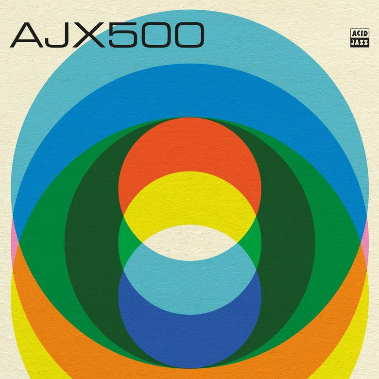 Image of 'AJX500' A Collection From Acid Jazz LP (Pre-Order)
