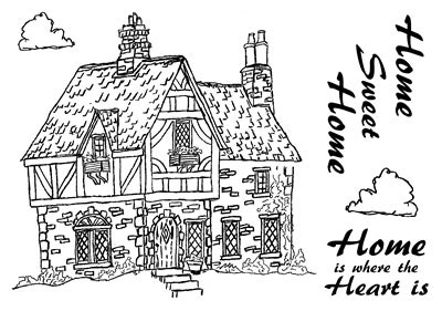 Image of Dennis Lewan Stamp #3 - Tudor House
