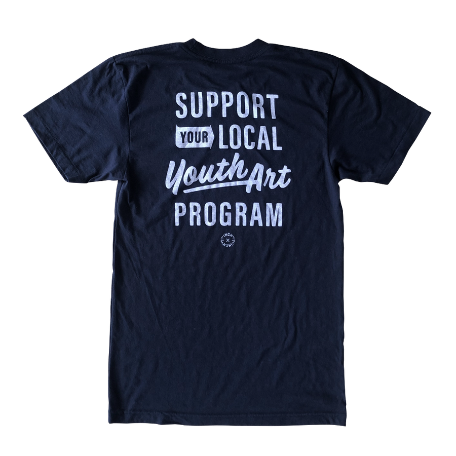 Image of INCH x INCH Support Youth Art T-shirt