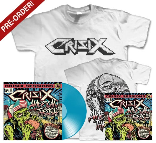 Image of PRE-ORDER White 'American Thrash' Blue ULTRA PACK