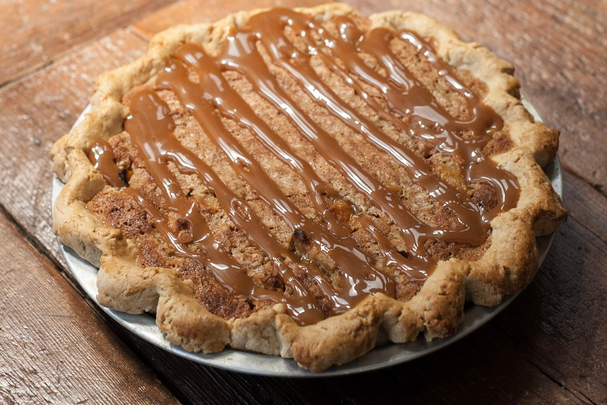 Image of Salted Caramel Peach Pie