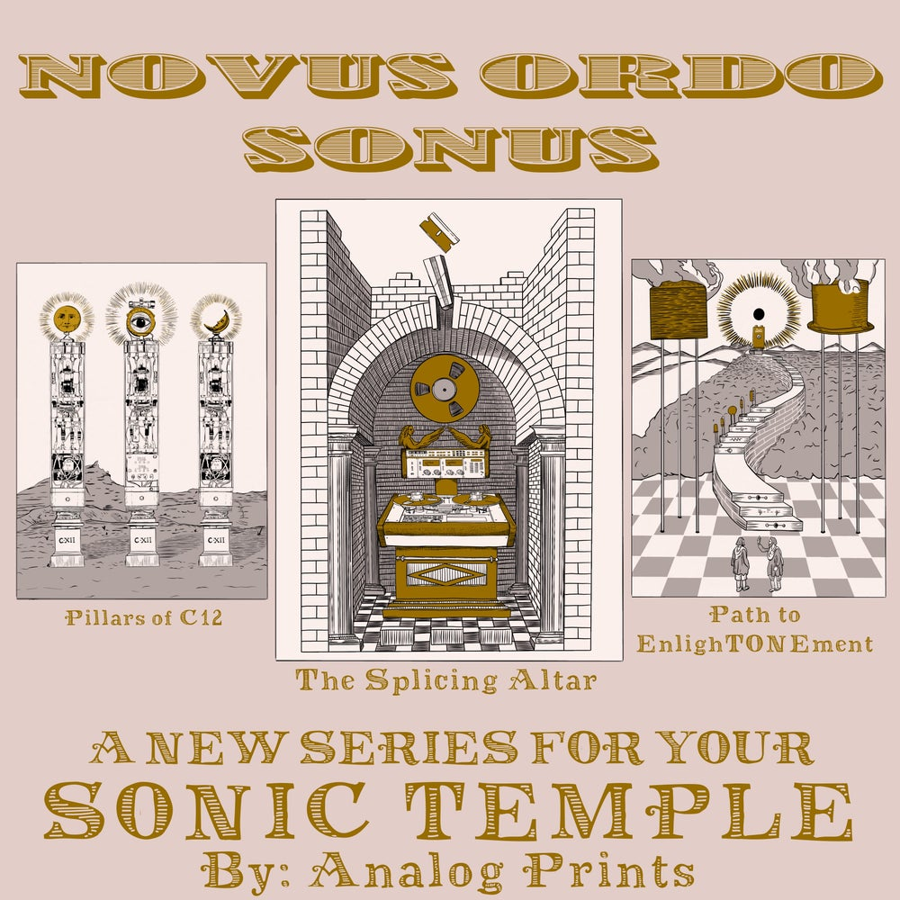 Image of Novus Ordo Sonus  - Three Poster Series Pre-Order.
