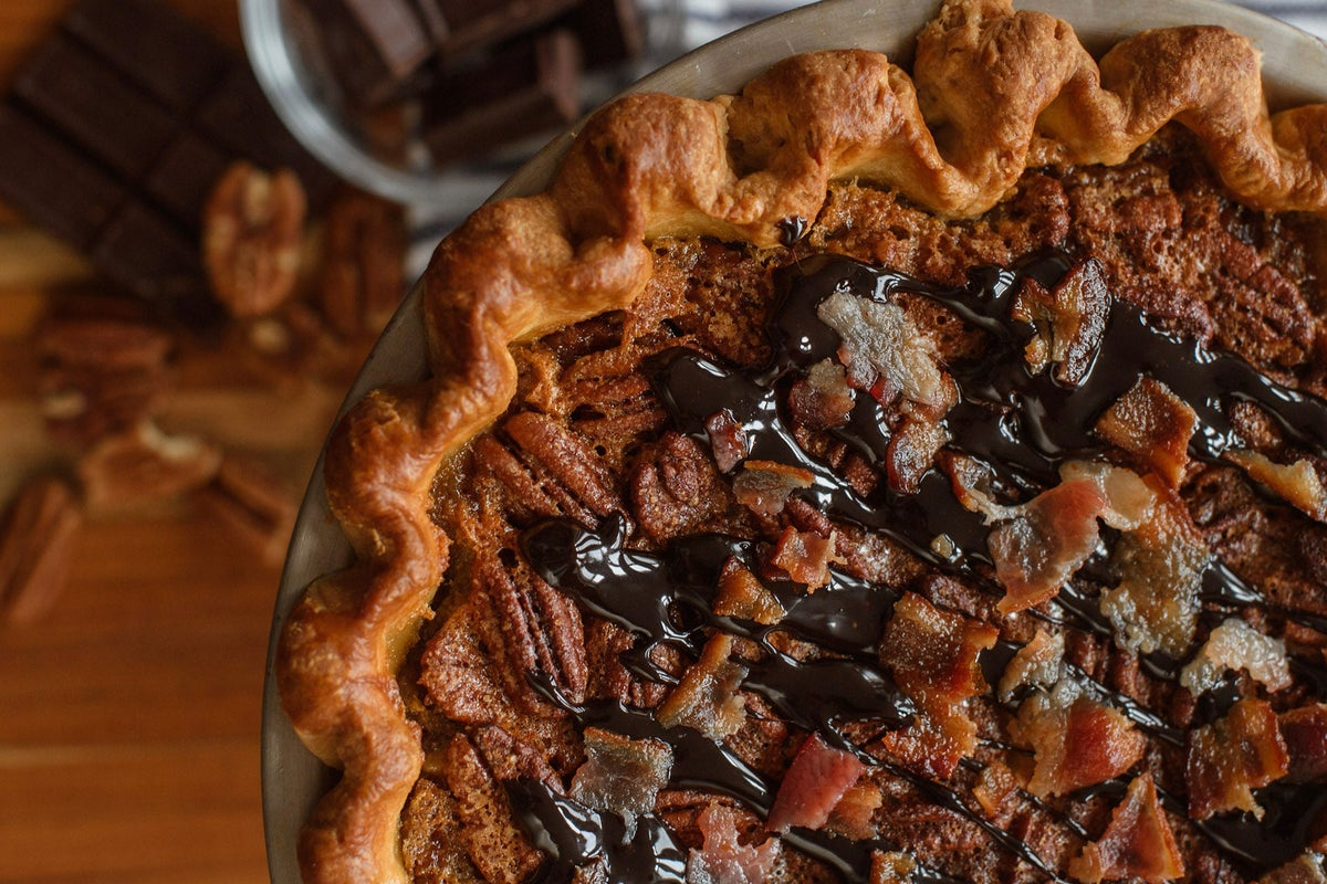 Image of Chocolate Bourbon Pecan Pie