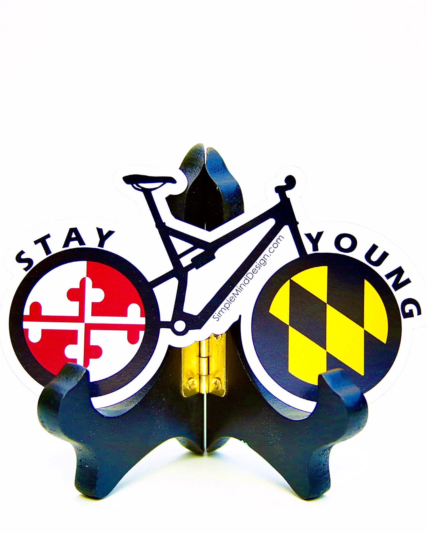 Image of Maryland Mountain Bike Magnet