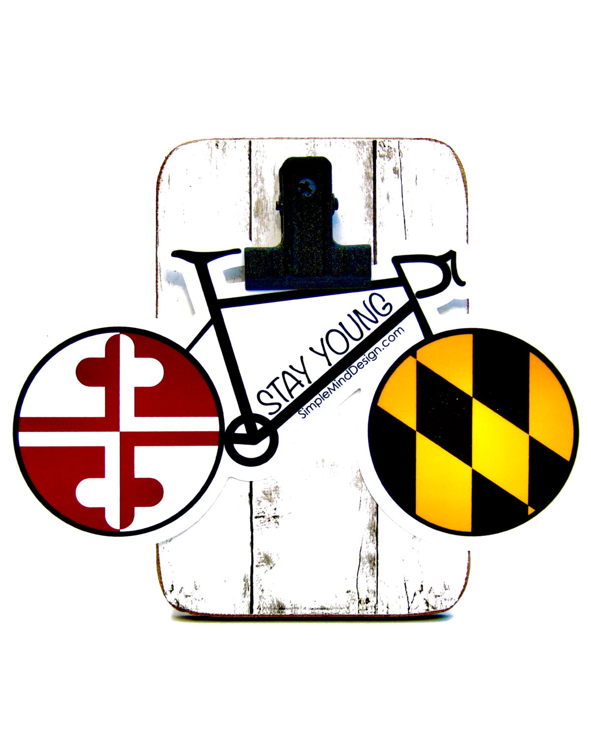 Image of Maryland Road Bike Sticker