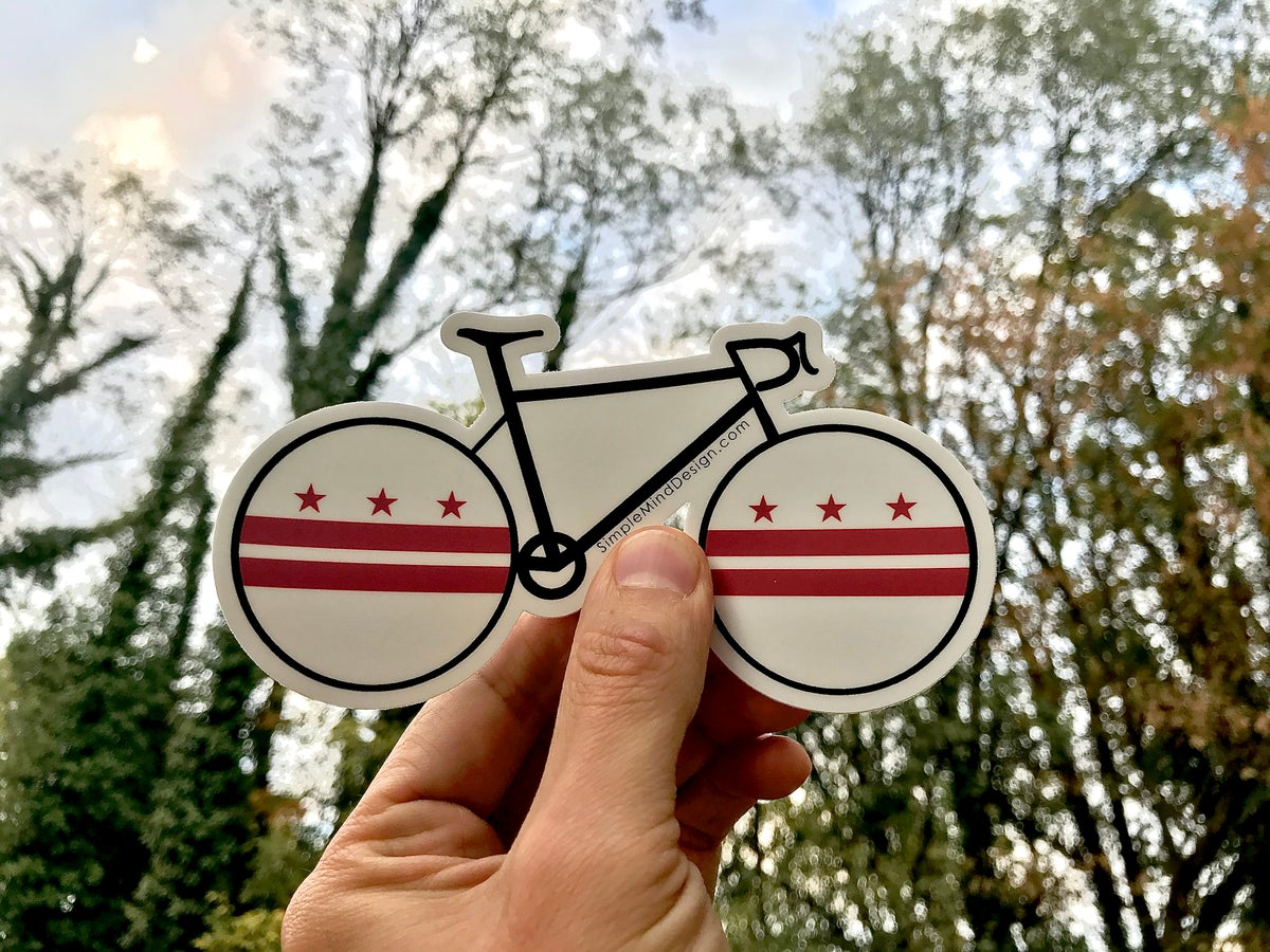 Image of DC Road Bike Sticker